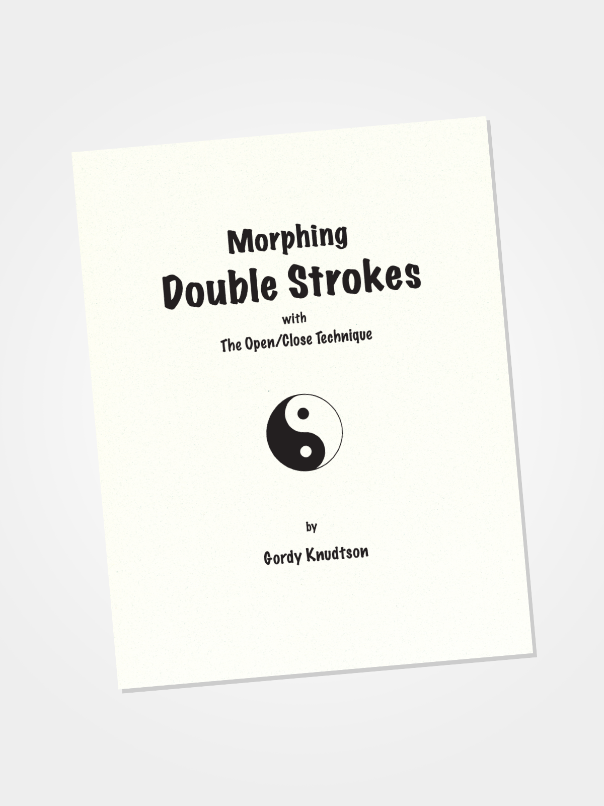 Morphing Double Strokes