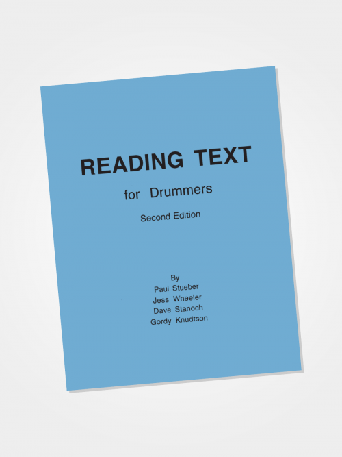 Reading Text for Drummers